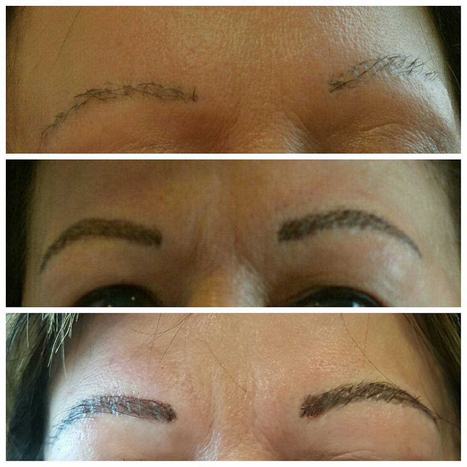 Microblading Before After Glamour