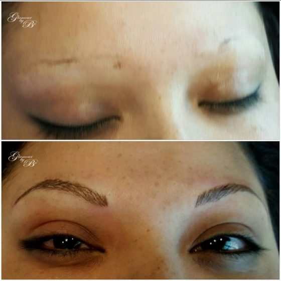 Microblading Before and After Pictures Dallas 15