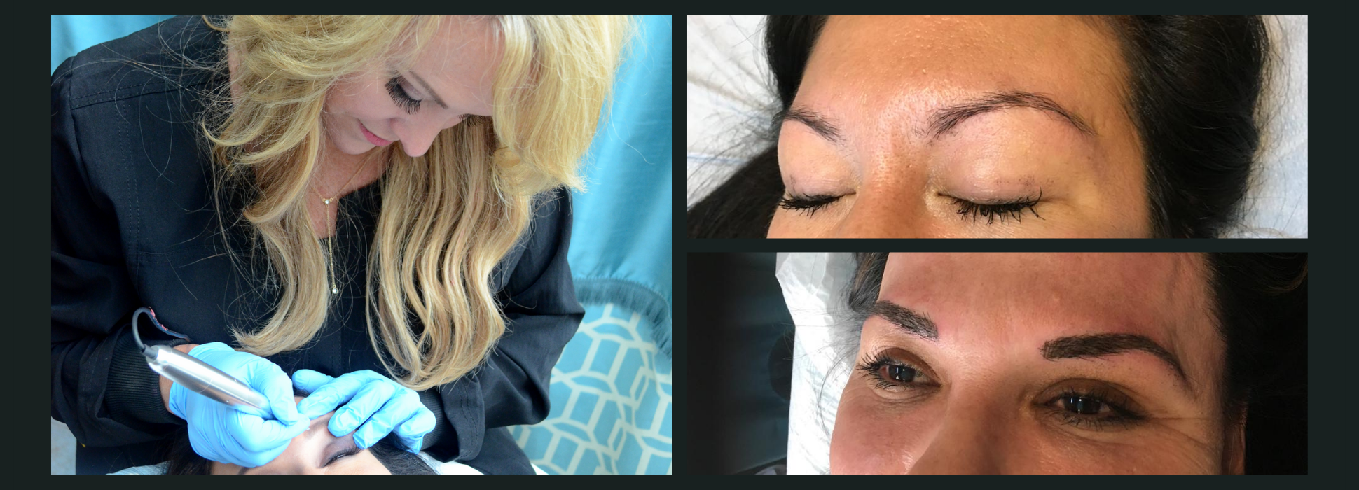 Microblading Before and After - Dallas